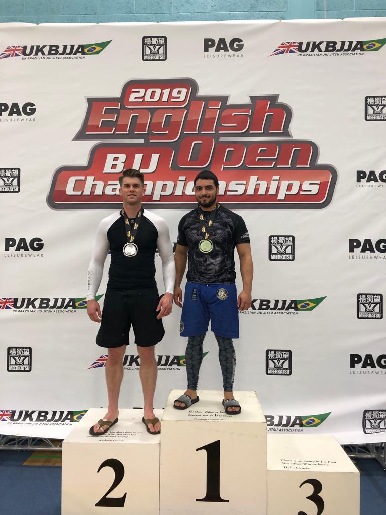 English BJJ Open results