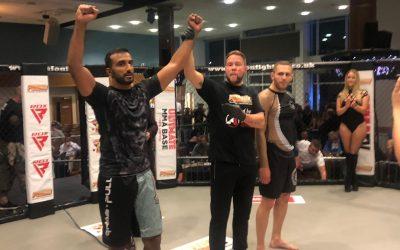 Raj's grappling match at Fusion MMA